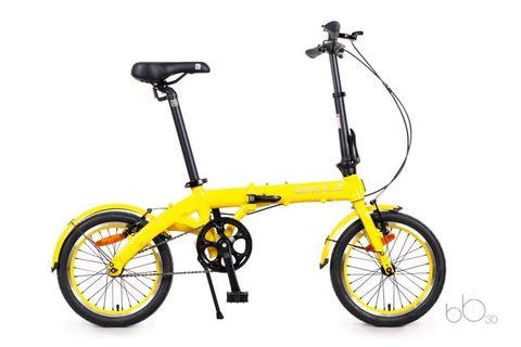 складной велосипед SHULZ Hopper желтый