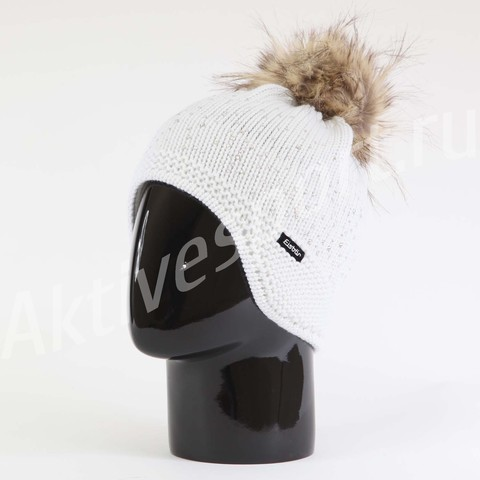 Картинка шапка с ушами Eisbar gloria lux crystal 100
