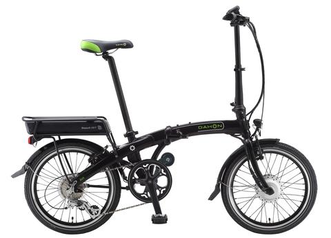 Dahon Ikon ED8 (2015)черный с зеленым