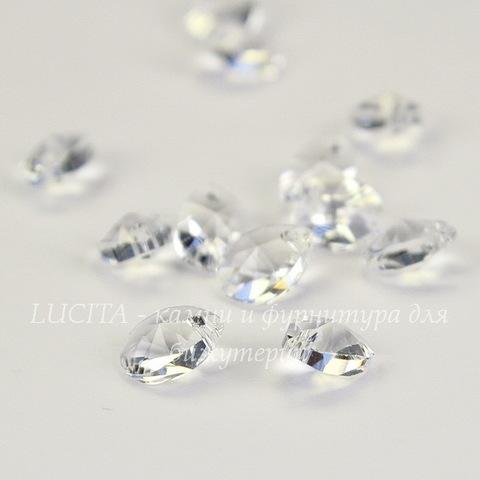 6128 Подвеска Сваровски Капля Crystal (8 мм)
