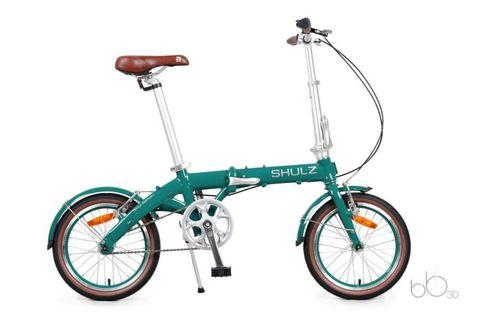 складной велосипед SHULZ Hopper зеленый