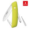 Швейцарский нож SWIZA D02 Standard, 95 мм, 6 функций, салатовый