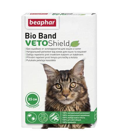 Beaphar Bio Band Veto Shield ошейник для кошек и котят от блох на нат. масл. на 4 месяца 35 см