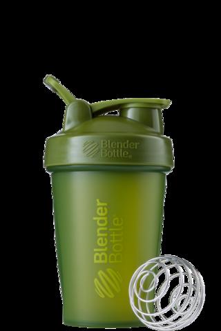 BlenderBottle Classic Шейкер классический с венчиком-пружинкой оливковый 591 мл