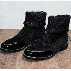 Ботинки носки женские Kluchini 5161 k255 Black