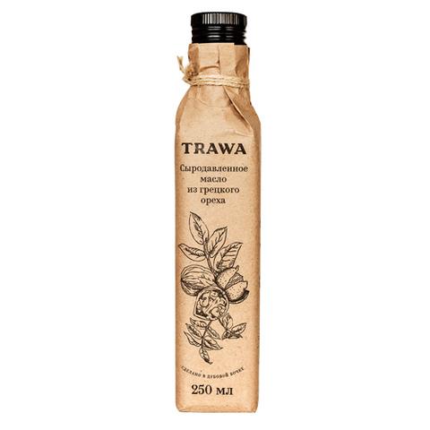 TRAWA, Масло сыродавленное грецкого ореха, 250мл