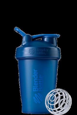 BlenderBottle Classic Шейкер классический с венчиком-пружинкой темно-синий неви 591 мл