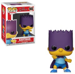 Funko - POP Animation: Simpsons S2- Bart-Bartman Brand New In Box