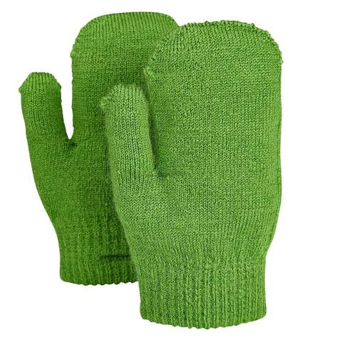 Варежки детские Didriksons Tummis - Kryptonite green (зеленый)