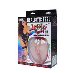 Мастурбатор-вагина с выносным пультом -