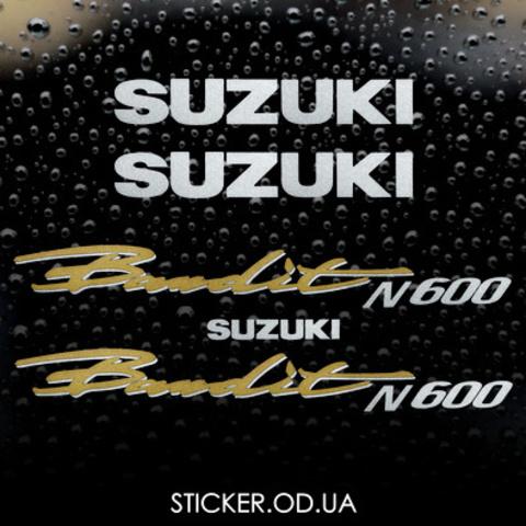 Набор виниловых наклеек на мотоцикл SUZUKI BANDIT 600N, 1997