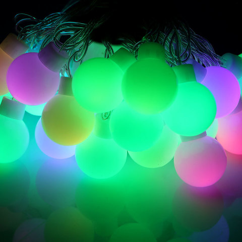 LED светодиодные большие шары огромных размеров