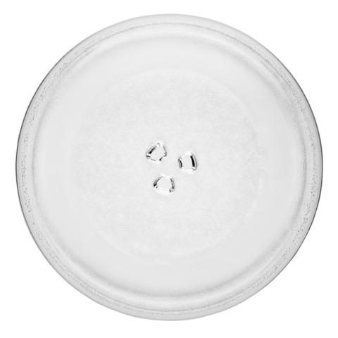 Тарелка (блюдо) для микроволновки универсальное D-255мм c креплениями под коуплер