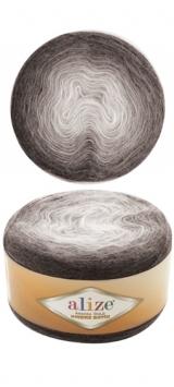 Пряжа Alize Angora Gold Ombre Batik 7267 серый
