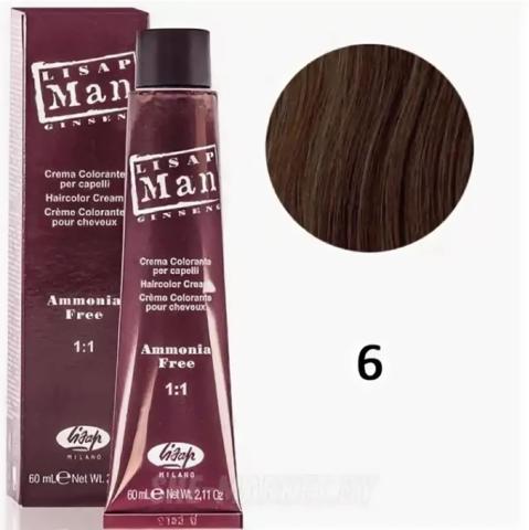 6 Мэн Лисап 60мл краска для волос