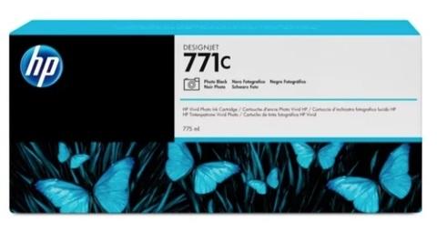 Оригинальный картридж струйный HP B6Y13A 771C черный