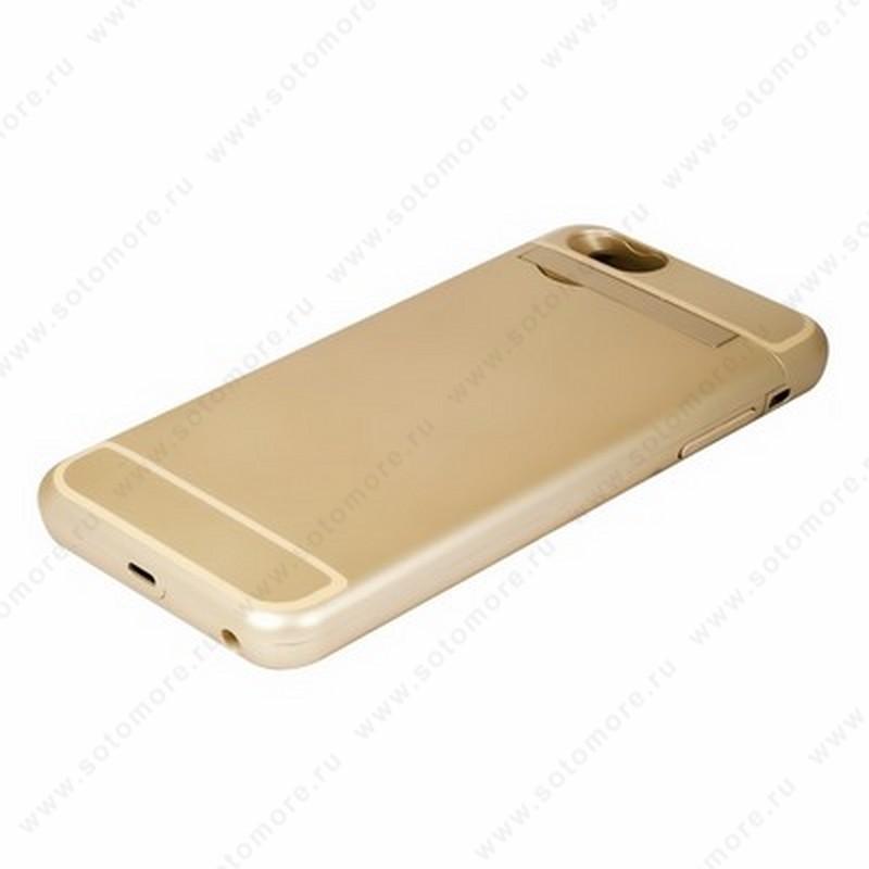 Аккумулятор чехол для Apple iPhone 6s Plus/ 6 Plus 4500 мАч 1.0A золото