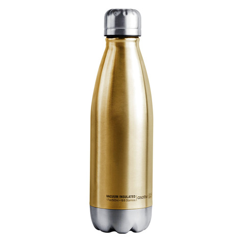 Термос-бутылка Asobu Central park (0,51 литра), золотистая