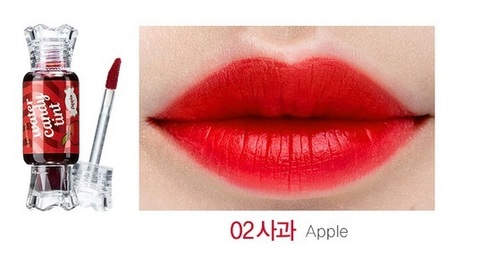 Тинт для губ THE SAEM Saemmul Water Candy Tint 10g #02 Apple
