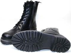 Ботинки женские зимние на шнуровке Vivo Antistres Lena 603