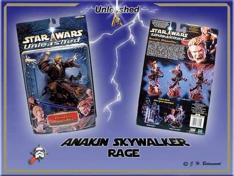 STAR WARS UNLEASHED ANAKIN ATTACK OF THE CLONES