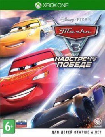 Xbox One Тачки 3. Навстречу победе (русские субтитры)