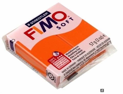 Полимерная глина FIMO Soft 42 (мандариновый) 57г