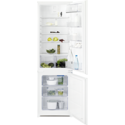 Встраиваемый двухкамерный холодильник Electrolux ENN92811BW
