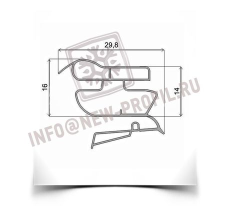 Уплотнитель для холодильника Vestfrost VB 344 M1 х.к 990*570 мм (022)