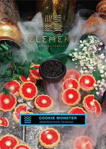 ELEMENT COOKIE MONSTER (ЗЕМЛЯНИЧНОЕ ПЕЧЕНЬЕ) ВОДА 200г