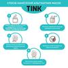 Маска альгинатная восстанавливающая Томат-Пептиды Tink 15 г (6)