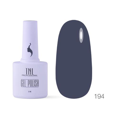 Гель-лак TNL 8 Чувств №194 - графит (10 мл.)