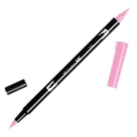 Маркер с двумя наконечниками Tombow Dual Brush Marker- Цвет 723 Pink