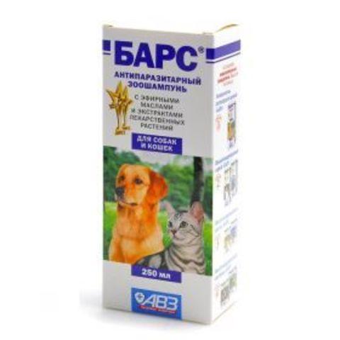 Барс Шампунь антипаразитарный для собак и кошек (250 мл)