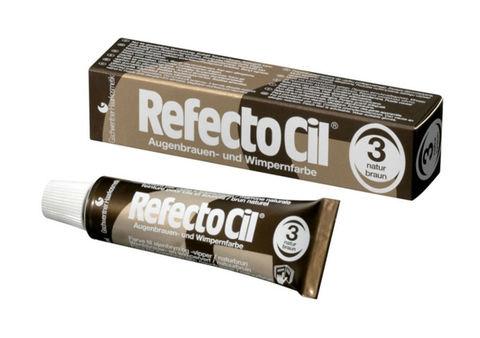 RefectoCil #3 Коричневый, Краска для бровей и ресниц, 15 мл