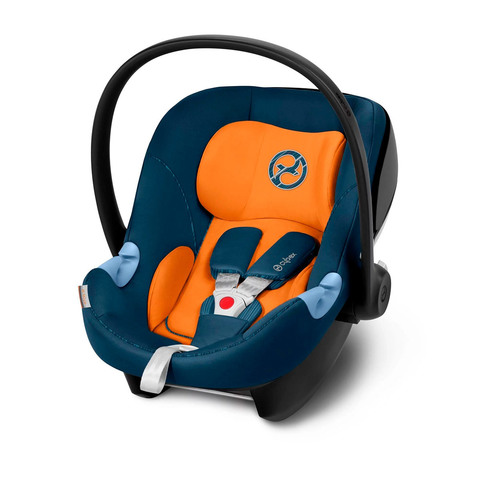 Автокресло Cybex Aton M i-Size Tropical Blue