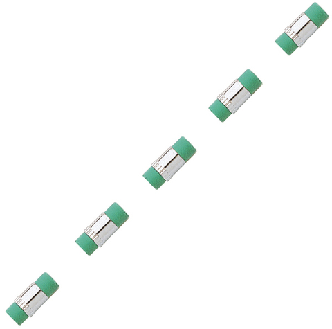 Ластик Cross  (8748) для механического карандаша 0.7 мм 5 шт в упаковке