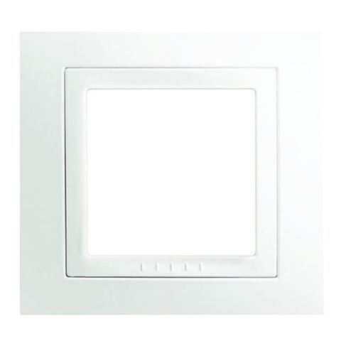 Рамка на 1 пост. Цвет Белый. Schneider electric Unica. MGU2.002.18