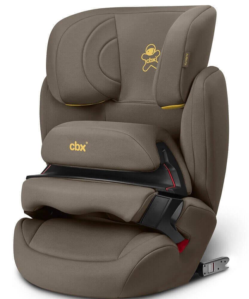 CBX by Cybex Aura-Fix Автокресло CBX by Cybex Aura-Fix Truffy Brown CBX_18_y045_AURA_FIX_TRUFFY_BROWN_3_4view_8480_DERV_HQ.jpg