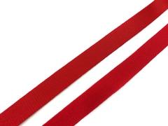 Резинка бретелечная красная 15 мм (цв. 100)