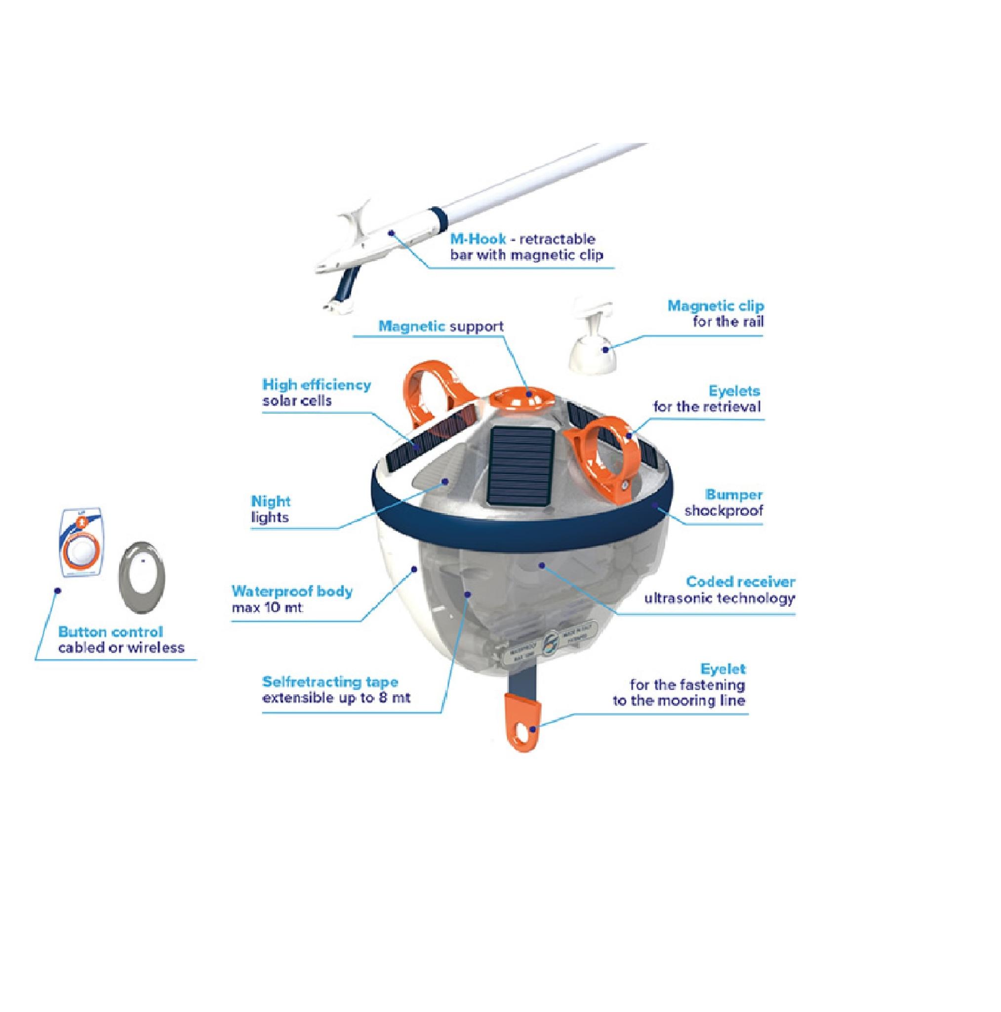 Mooring buoy Clik Easy