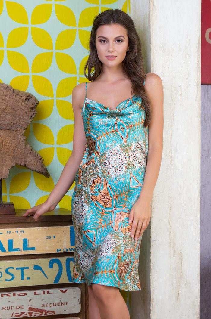 шелк натуральный Сорочка женская натуральный шелк  MIA-MIA  Adriana АДРИАНА 15108 15108_big.jpg
