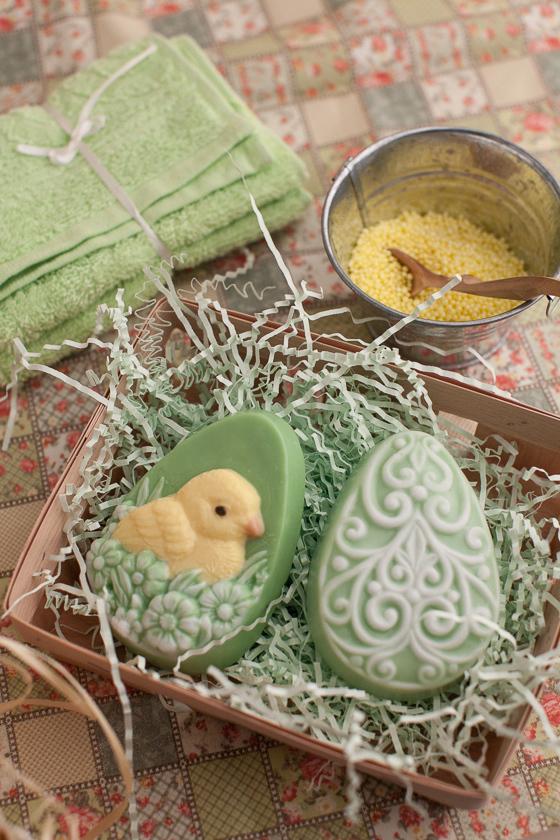 Форма для мыла ручной работы Яйцо/Цыпленок