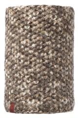 Вязаный шарф-труба с флисовой подкладкой Buff Margo Brown Taupe