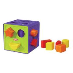 Hasbro Playskool Занимательный куб-сортер (00322H)