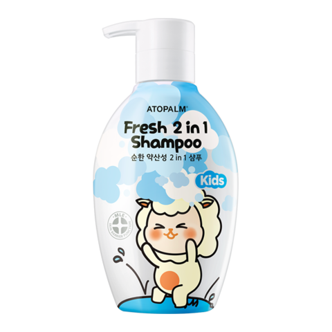 ATOPALM Fresh 2 In 1 Shampoo Kids 380ml