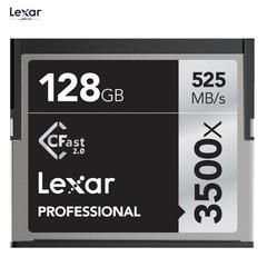 Карта памяти Lexar 128GB 3500X Professional CFast 2.0 525 - 445MB/s