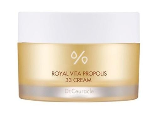 Питательный Крем С Экстрактом Прополиса DR.CEURACLE Royal Vita Propolis 33 Cream