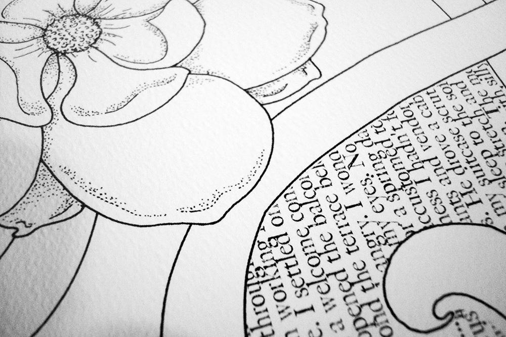 Бумага для скрапбукинга Magnolia