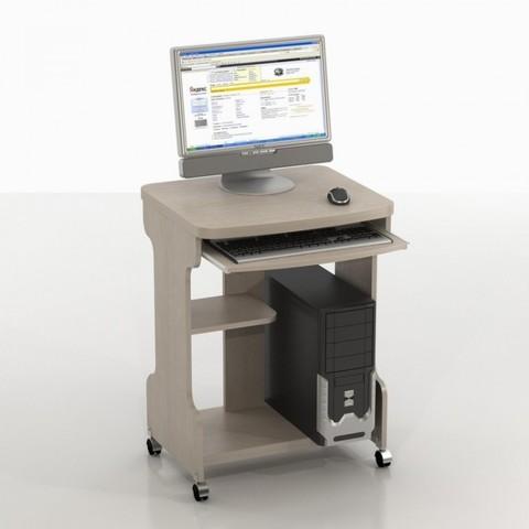Компьютерный стол Киви КC-9 беленый дуб